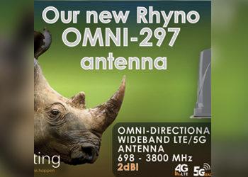 Our new Rhyno OMNI-297 antenna