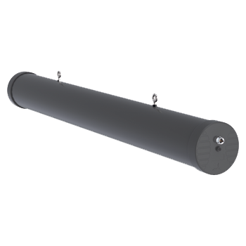 A-HELI-0003-IS Circular Polarised, Directional Mine/Tunnel Antenna;Wi-Fi, 2400 - 2500 MHz, 18.5 dBi (Intrinsically Safe) Directional Mine Tunnel
