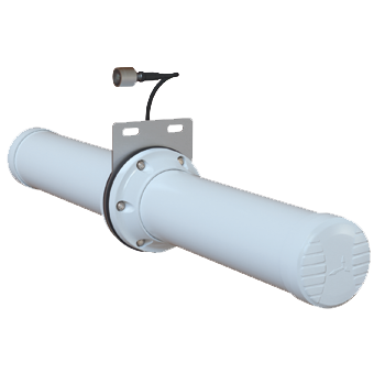 A-HELI-0017-V2-01-L Circular Polarised, Bi-Directional Mine/Tunnel Antenna; Wi-Fi; 2400 - 2500 MHz, 9 dBi Wi-Fi Mine Tunnel