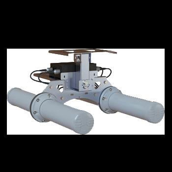 A-HELI-0022-V2-01 Circular Polarised, Bi-Directional Mine/Tunnel Antenna; Dual-band Wi-Fi; 2400 - 2500 MHz, 9 dBi; 5000 - 6000 MHz, 11 dBi Wi-Fi Mine Tunnel