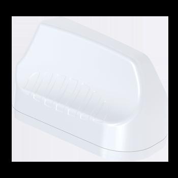 A-MIMO-0003-V2-13 3-in-1 Transportation & Automotive Antenna; 410 - 3800 MHz; 2X2 LTE (MIMO), 5.8 dBi; GPS/GLONASS, 21 dBi LTE MIMO Antenna