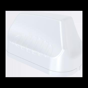 A-MIMO-0003-V2-17 7-in-1 Transportation & Automotive Antenna; 410 - 3800 MHz; 4X4 LTE (MIMO), 6.2 dBi; 2X2 Wi-Fi (MIMO), 7 dBi; GPS/GLONASS, 21 dBi  LTE MIMO Antenna