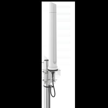 A-OMNI-0296-V1 Omni-Directional, Dual-band Wi-Fi Antenna; 2400 - 2500 MHz, 3300 - 3800 MHz & 5000 - 6000 MHz, 7.5 dBi Dual-Band Wi-Fi