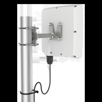 A-WLAN-0061-V1 Uni-Directional, Dual-Band Wi-Fi Antenna; 4x4 Wi-Fi (MIMO); 2400 - 2500 MHz, 9 dBi; 5000 - 6000 MHz, 11 dBi Directional Wi-Fi