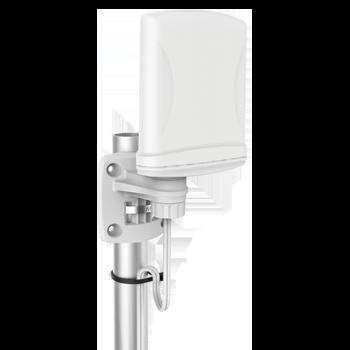 A-XPOL-0001 X-Polarised, Omni-Directional, 2X2 LTE MIMO Antenna; 790 - 960 MHz, 1.6 dBi; 1710 - 2700 MHz, 4 dBi Omni-Directional Wi-Fi