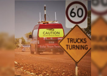 Internet Connection For Solar Team Twente In The Australian Outback