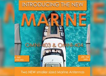 New Omni-Directional Marine & Coastal Antennas | OMNI-403 & OMNI-404