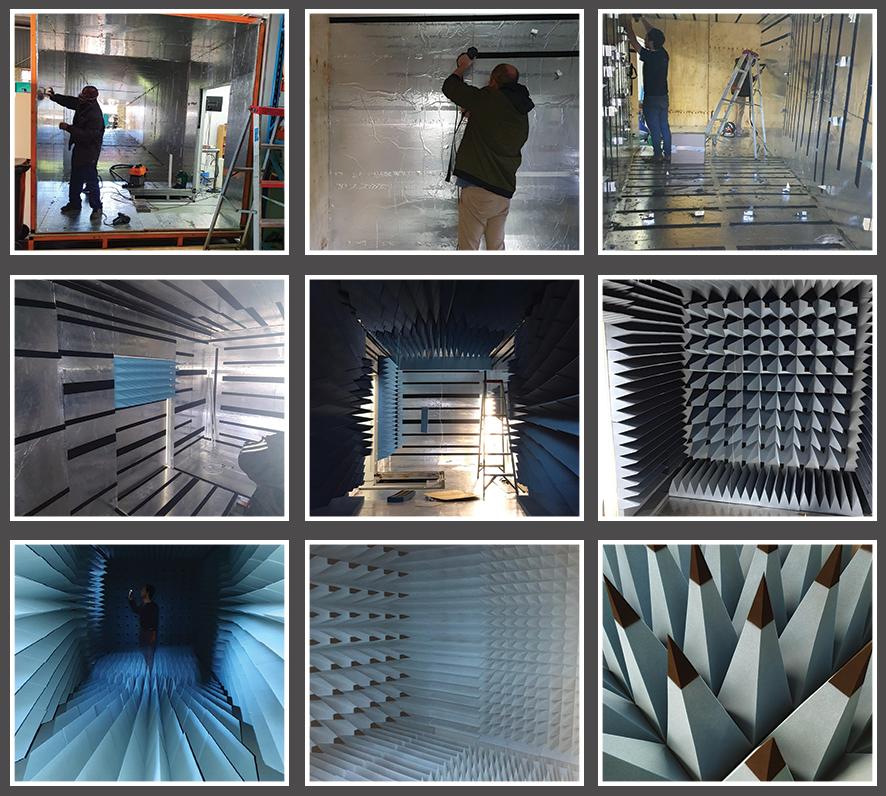 Poynting-Antennas'-RF-Anechoic-Test-Chamber-upgrade-collage