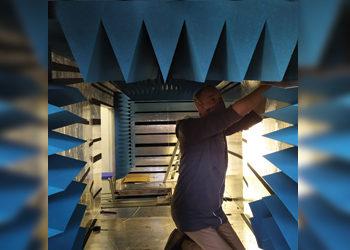 Poynting Antennas' RF Anechoic Test Chamber Upgrade
