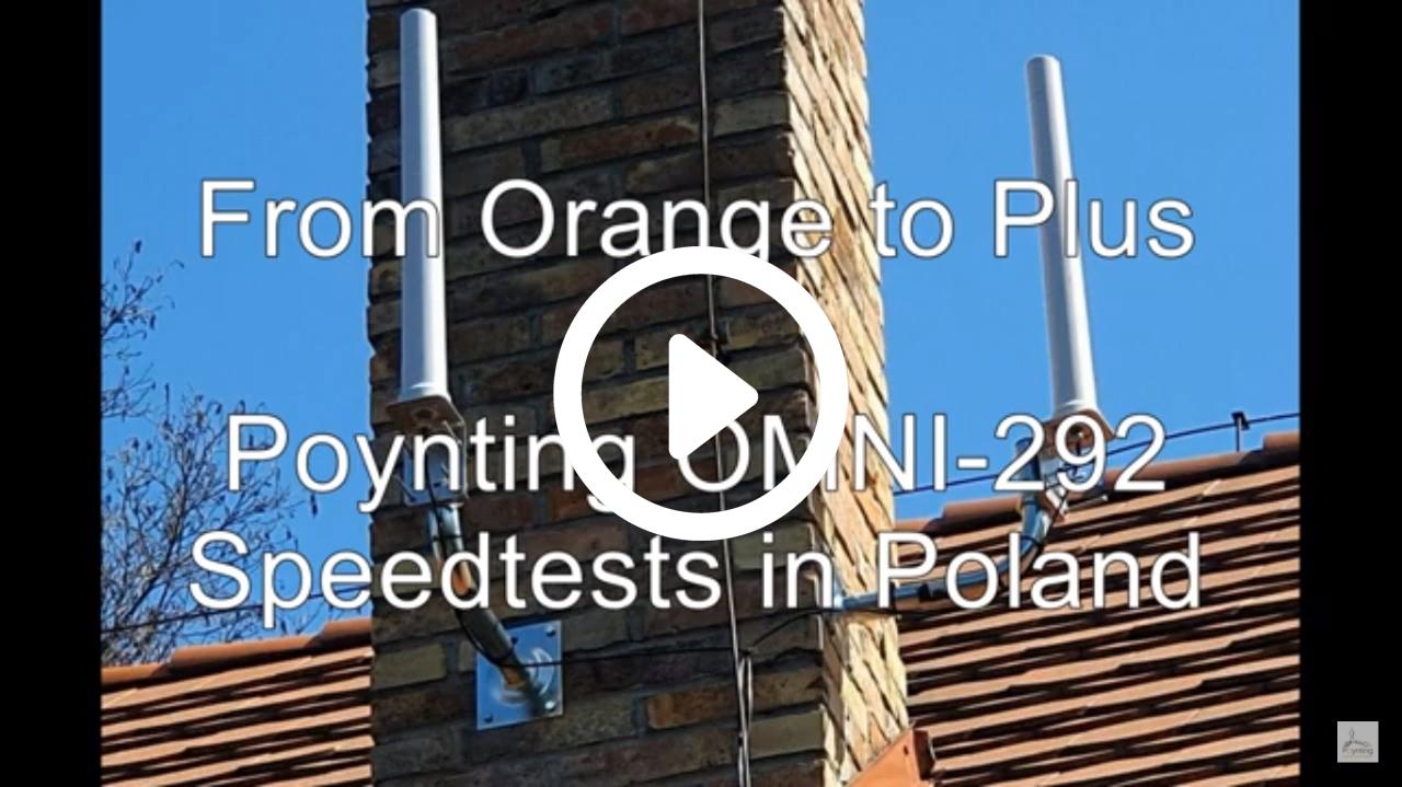 Poynting Omni-292 Speedtest_video