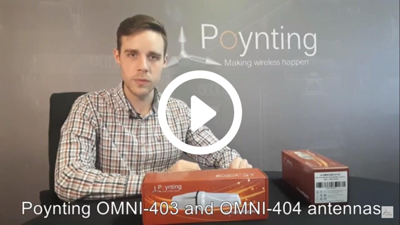 Poynting Omni-403 & 404 antennas_video