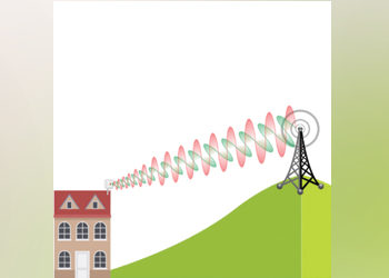 Should The Cross Polarised Antenna On My House Be Polarized The Same Way As The Cell Tower MIMO Antennas?
