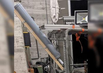 Tunnel inspection & measurement using HELI antennas